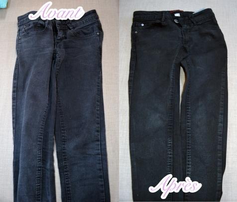 le jour o j ai r ssuscit mon jeans noir la renarde paresseuse. Black Bedroom Furniture Sets. Home Design Ideas